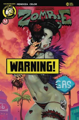 Zombie Tramp #39 (Sevilla Risque Cover)