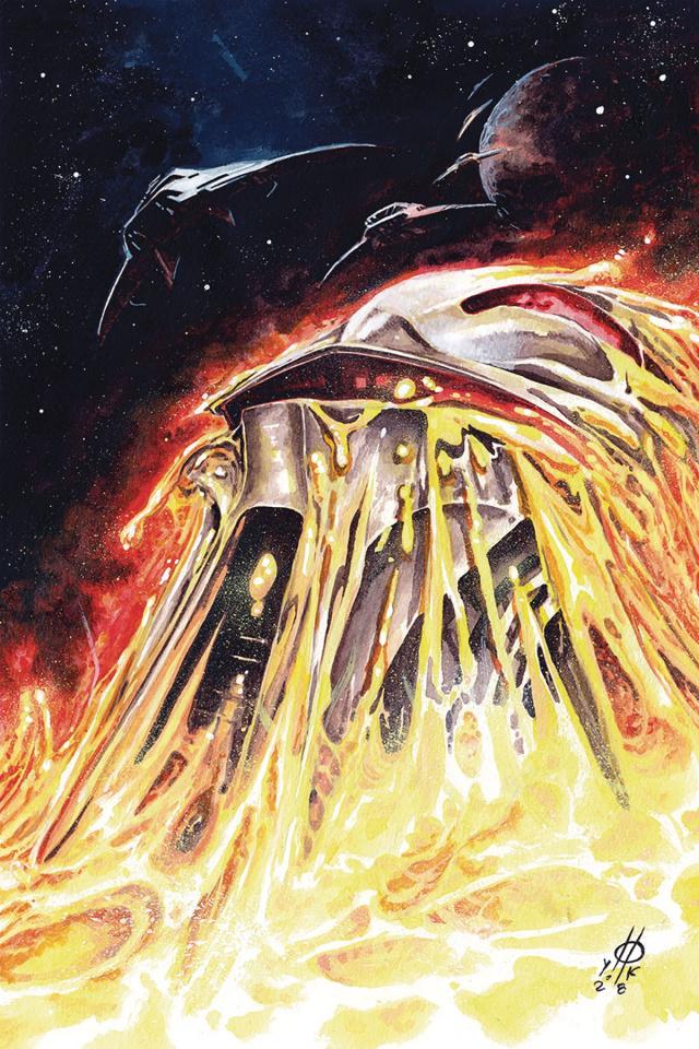 Battlestar Galactica Classic #2 (10 Copy Rudy Virgin Cover)