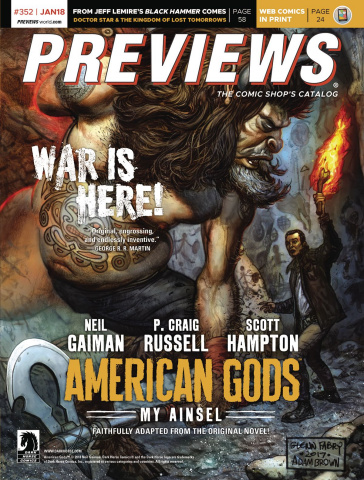 Previews #354: March 2018