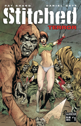 Stitched: Terror #1 (Brutal Cover)