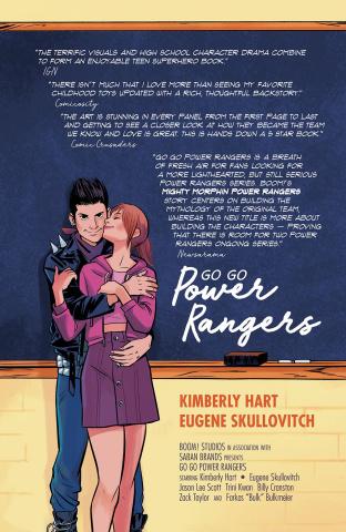 Go, Go, Power Rangers! #7 (25 Copy Bustos Cover)