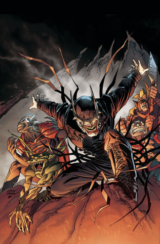 Dark Nights: Metal #5 (Kubert Cover)