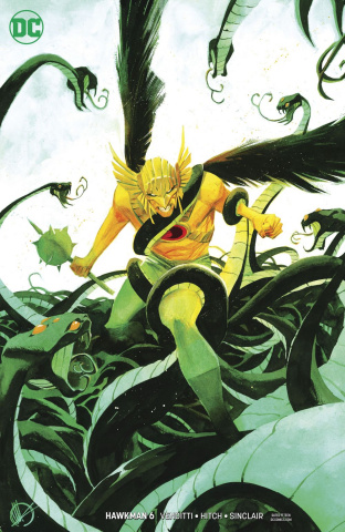 Hawkman #6 (Variant Cover)