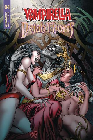 Vampirella / Dejah Thoris #4 (Pagulayan Cover)