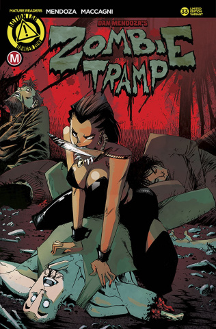 Zombie Tramp #33 (Fresh Kill Cover)