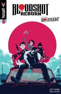 Bloodshot: Reborn #5 (Allen Cover)