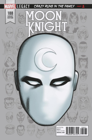 Moon Knight #188 (McKone Legacy Headshot Cover)
