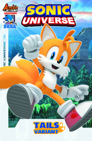 Sonic Universe #74 (Tails Cover)