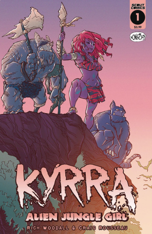 Kyrra: Alien Jungle Girl #1 (Nonstop Edition)