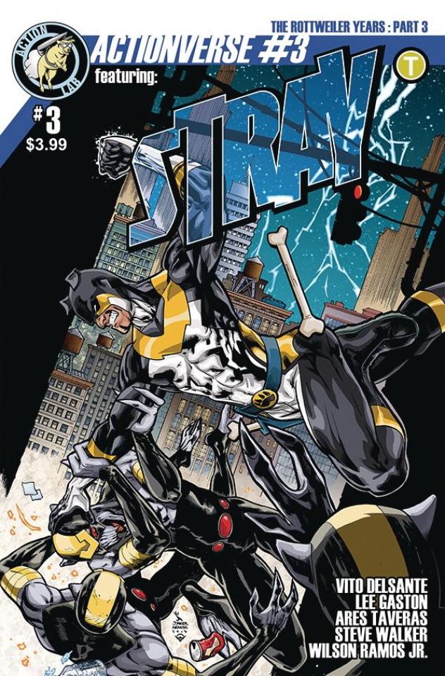 Actionverse #3 (Stray Aranda & Ramos Cover)