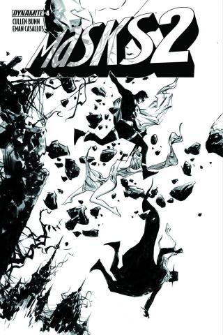 Masks 2 #4 (20 Copy Lee B&W Cover)
