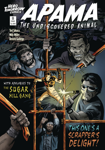 Apama: The Undiscovered Animal #8