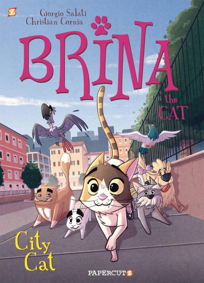 Brina the Cat Vol. 2: City Cat