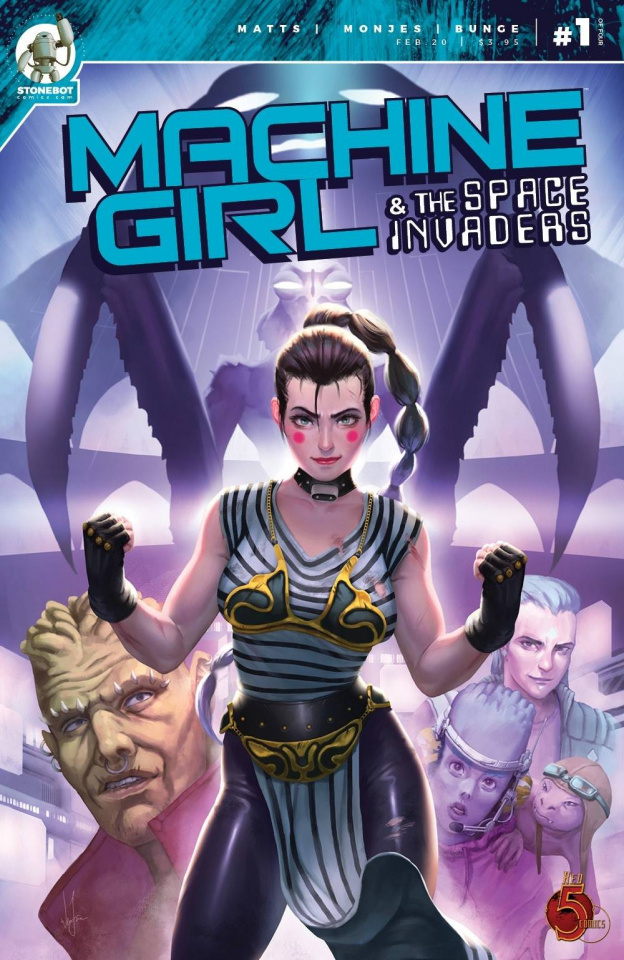 Machine Girl & The Space Invaders #1