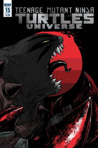Teenage Mutant Ninja Turtles Universe #15 (Campbell Cover)