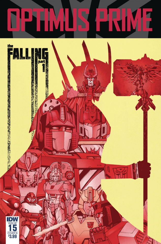 Optimus Prime #15 (Coller Cover)