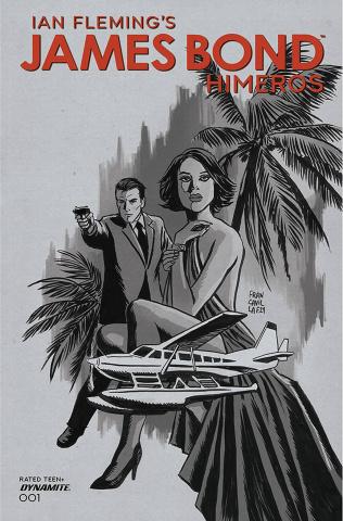 James Bond: Himeros #1 (10 Copy Francavilla B&W Cover)