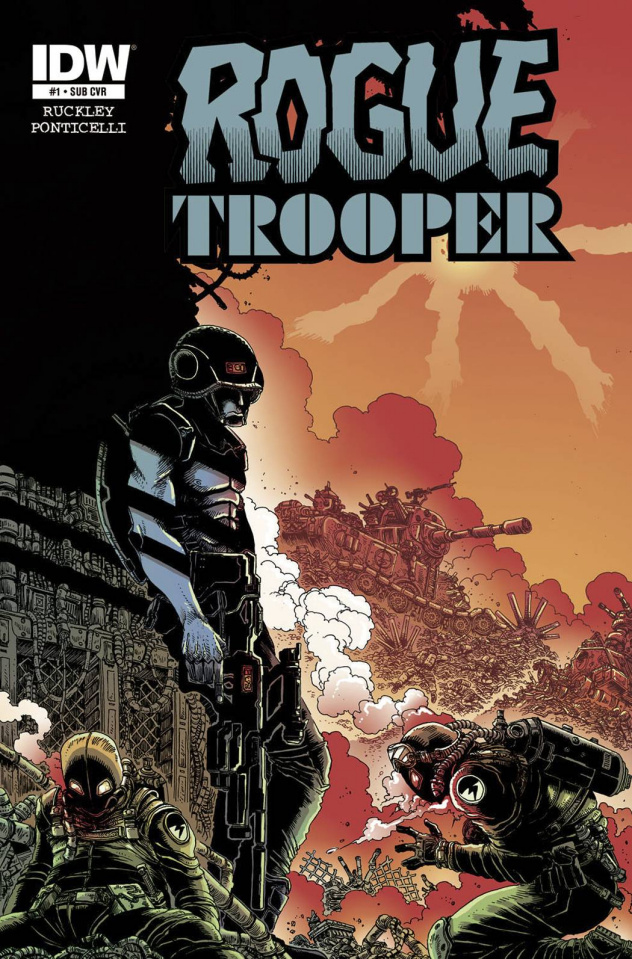 Rogue Trooper #1 (Subscription Cover)