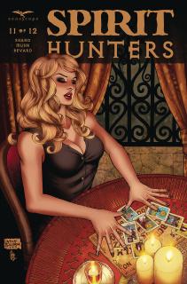 Spirit Hunters #11 (Salonga Cover)