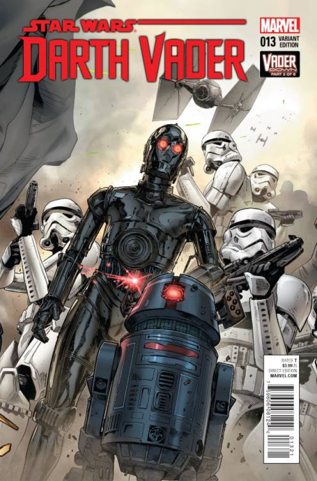 Darth Vader #13 (Mann Connecting Cover)