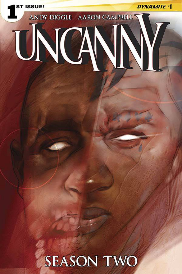 Uncanny, Season Two #1 (Oliver Cover)