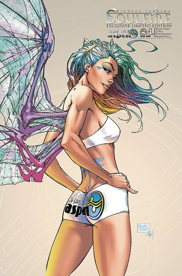 Soulfire #4 (Shake Your Aspen 2005 Cover)