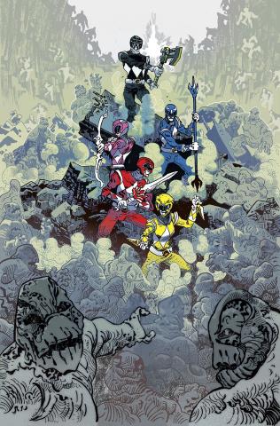 Mighty Morphin Power Rangers #11 (Unlock Villain Cover)