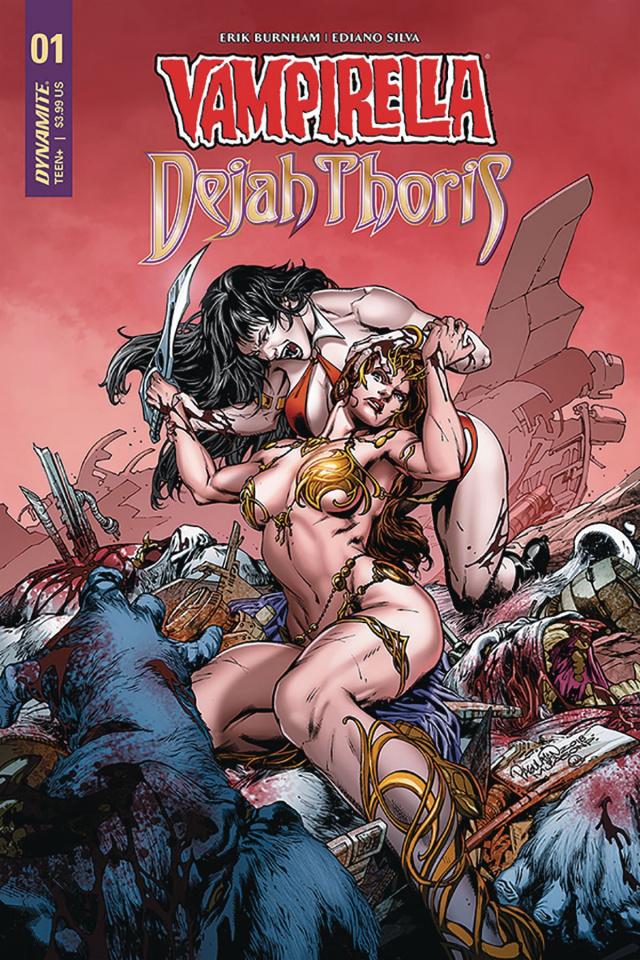 Vampirella / Dejah Thoris #1 (Pagulayan Cover)