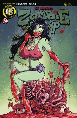 Zombie Tramp #51 (Axebone Cover)