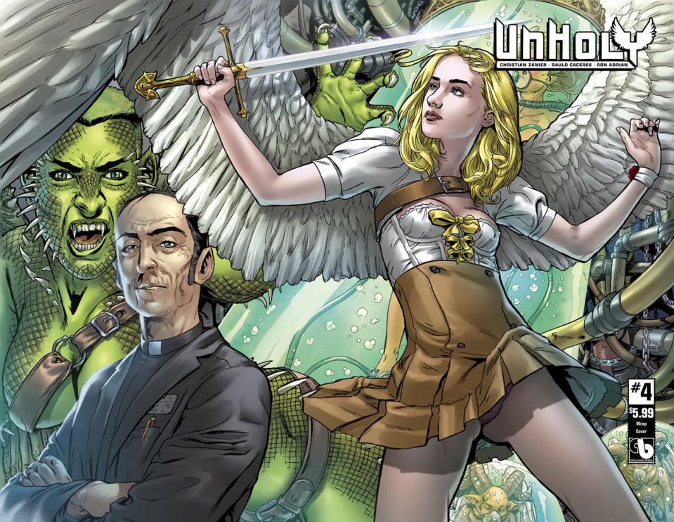 UnHoly #4 (Wrap Cover)