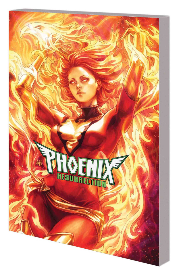 Phoenix Resurrection: The Return of Jean Grey (Artgerm Cover)