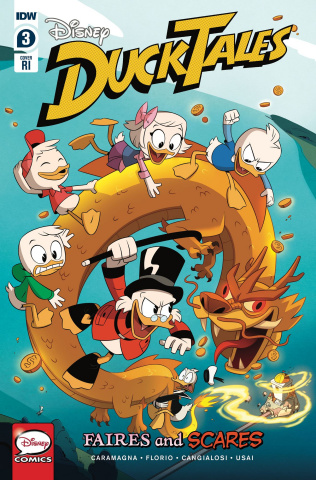 DuckTales: Faires and Scares #3 (10 Copy Ducktales Cover)