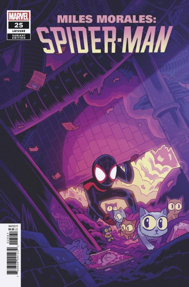 Miles Morales: Spider-Man #25 (Hipp Cover)