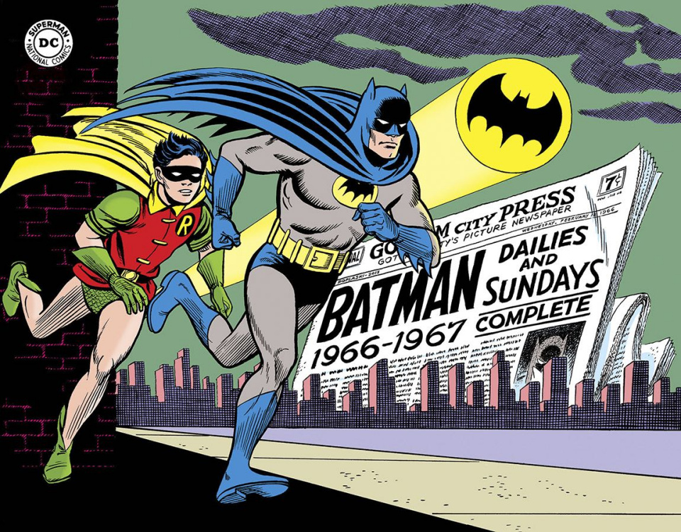 Batman: The Silver Age Newspaper Comics Vol. 1: 1966-1967