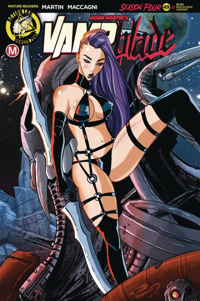 Vampblade, Season Four #12 (Rudetoons Reynolds Cover)