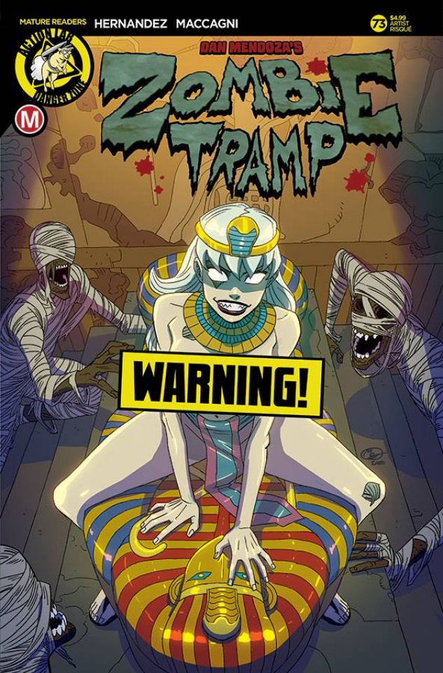 Zombie Tramp #73 (Huang Risque Cover)