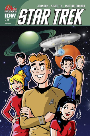 Star Trek #52 (Archie 75th Anniversary Cover)