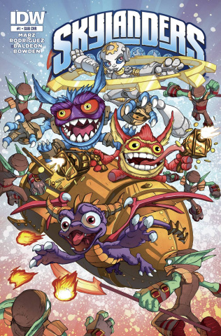 Skylanders #1 (Subscription Cover)