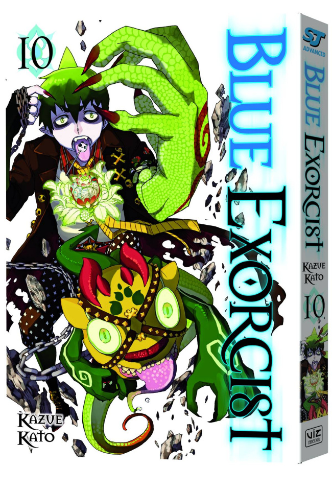 Blue Exorcist Vol. 10