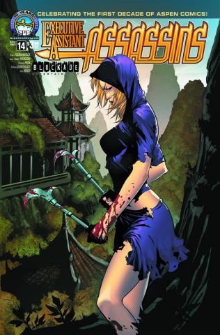 Executive Assistant: Assassins #14 (Hanson Cover)