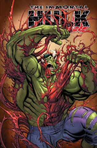 The Immortal Hulk #20 (Bradshaw Carnage-ized Cover)