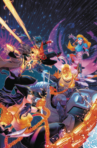 X-Men: Red #8 (Campbell Cosmic Ghost Rider Cover)