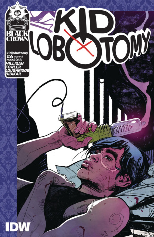 Kid Lobotomy #6 (Robles Cover)