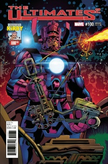 Ultimates 2 #100 (Kirby 100th Birthday Cover)