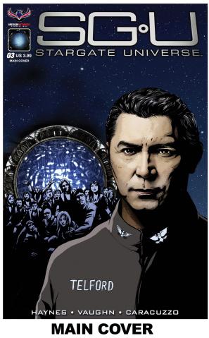 Stargate Universe: Back to Destiny #3 (Larocque Cover)