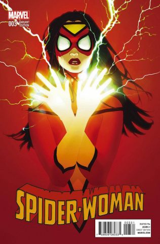 Spider-Woman #3 (Forbes Cover)