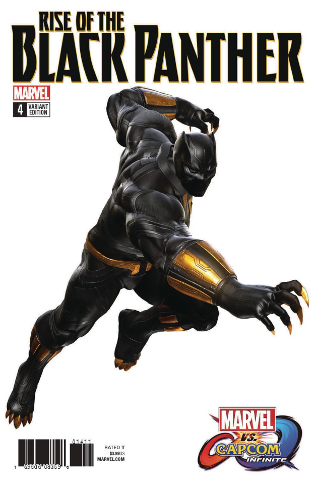 Rise of the Black Panther #4 (Game Image Cover)