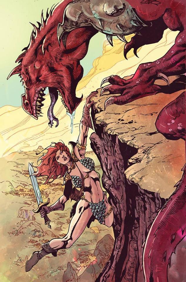 Killing Red Sonja #5 (11 Copy Castro Virgin Cover)