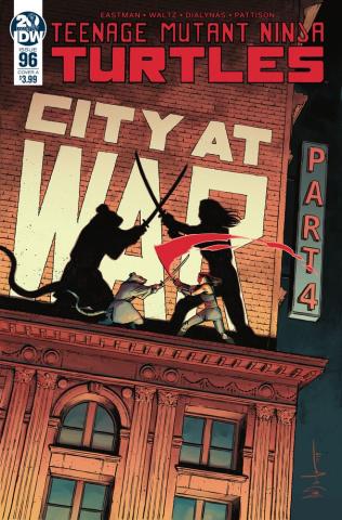 Teenage Mutant Ninja Turtles #96 (Wachter Cover)