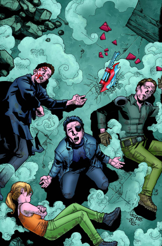 Buffy the Vampire Slayer, Season 9: Freefall #20 (Jeanty Cover)